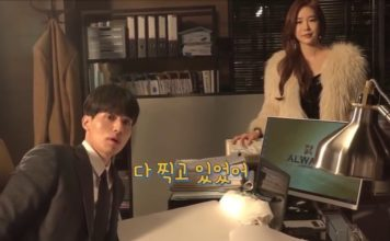ASSISTA: Lee Dong Wook e Yoo In Na no making of de Touch Your Heart