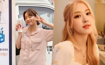 Hyeri do Girl's Day agradece ao Rosé do BLACKPINK por apoio ao novo drama